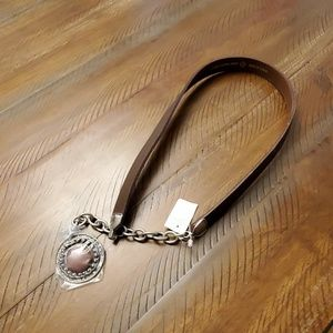 Brown dangle belt